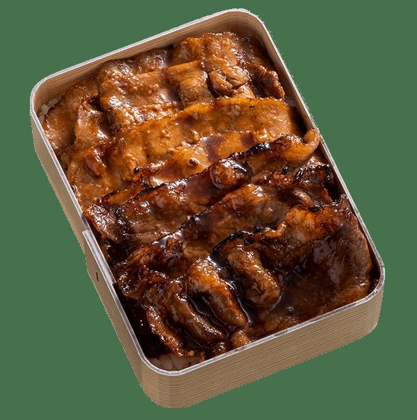 牛豚ミックスあみ焼き弁当