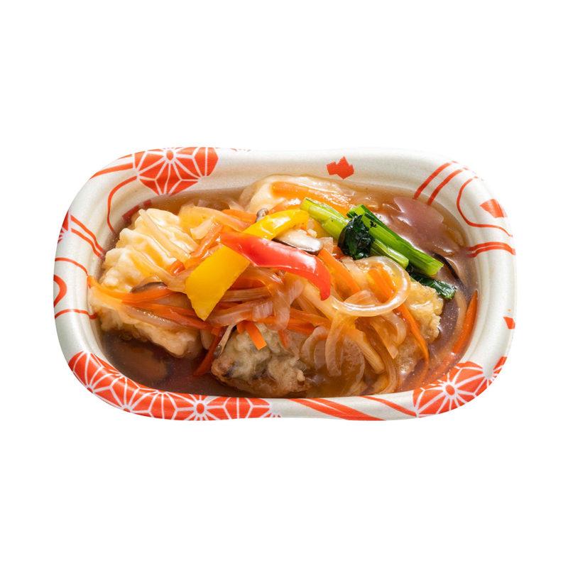 タラと豆腐の野菜あんかけ