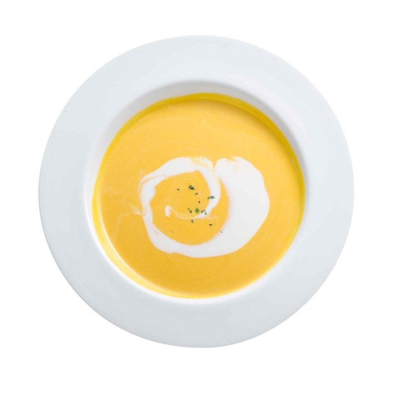 自家製かぼちゃスープ