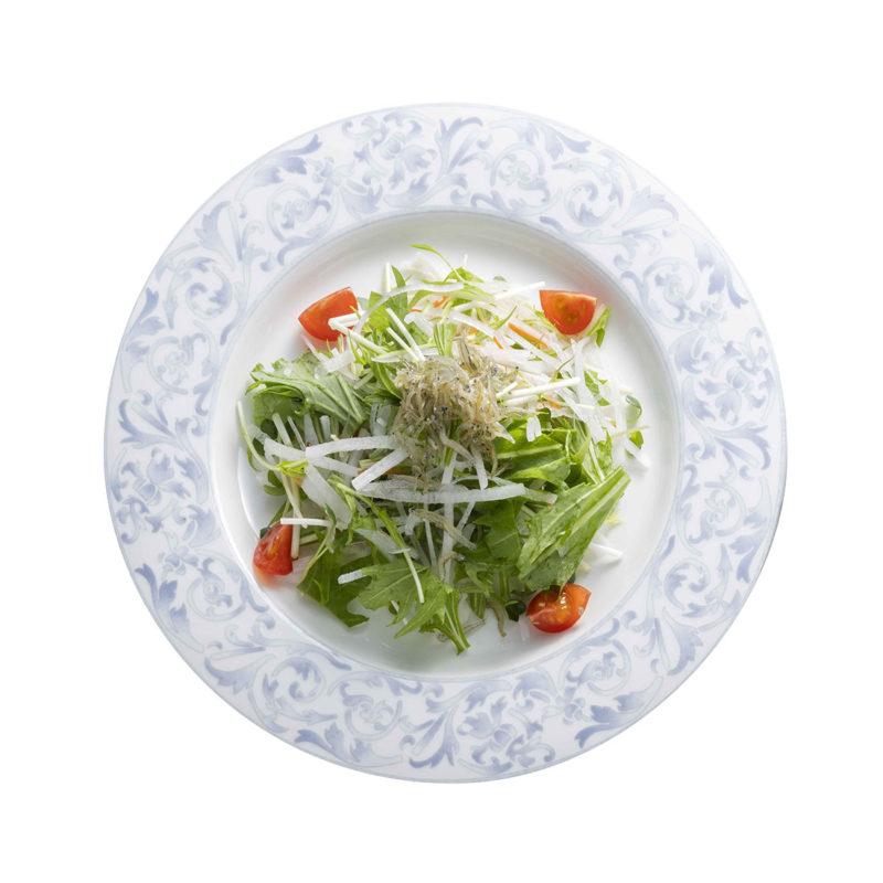 ジャコと水菜のサラダ