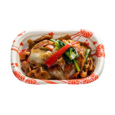 豚バラと白菜の中華炒め